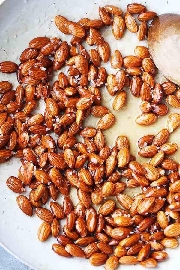 Honey Roasted Almonds Diethood