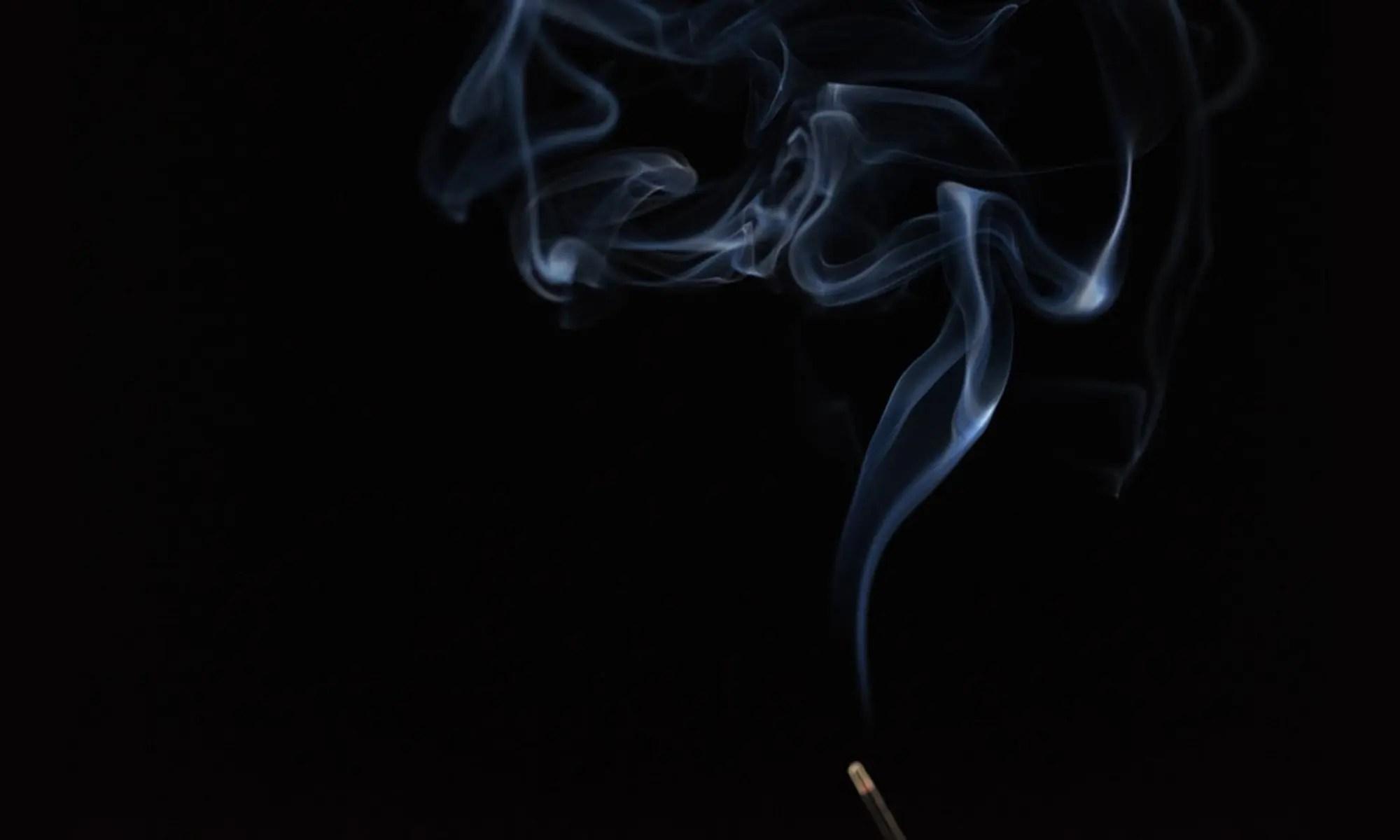 image of cigarette smoke