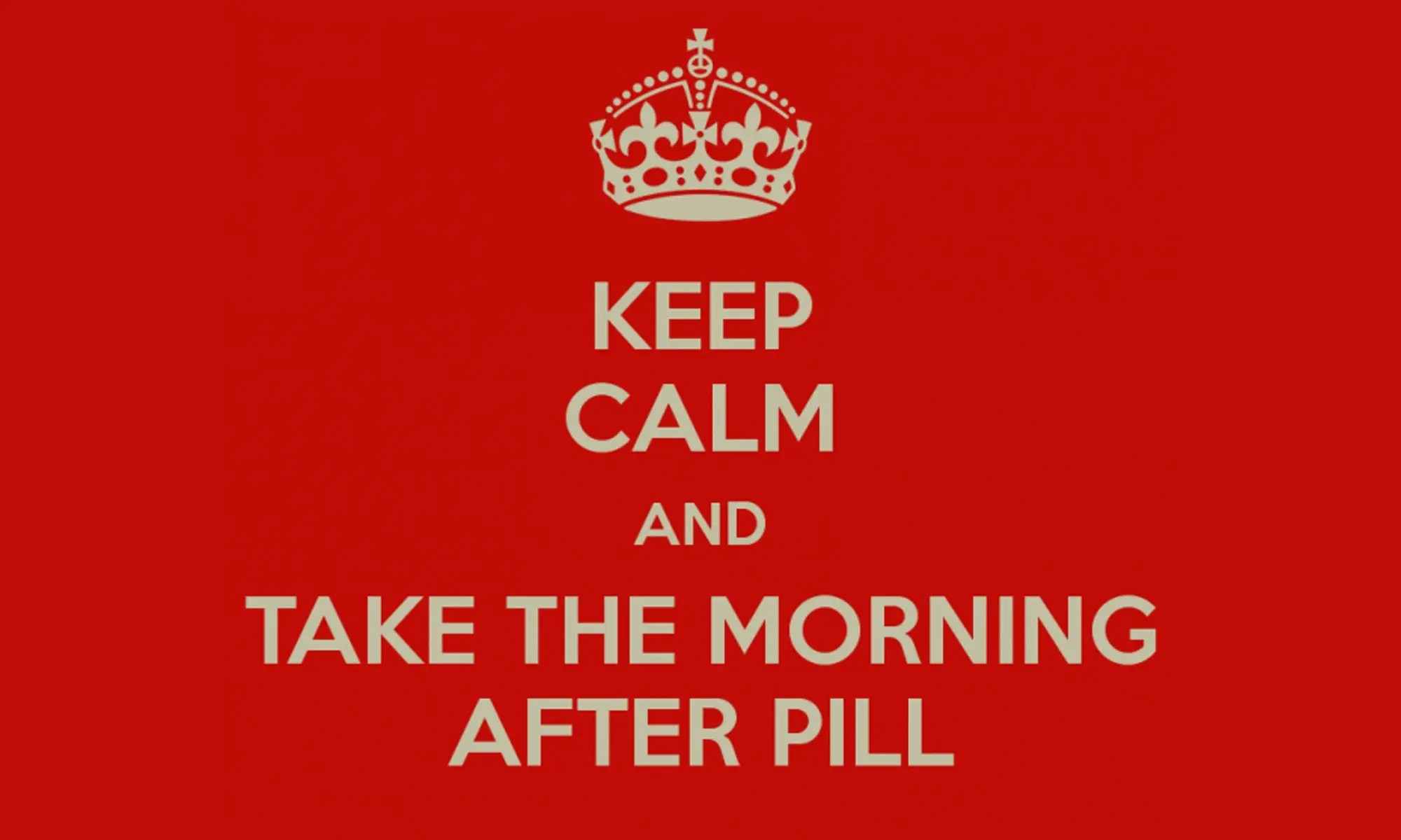 "The ""morning-after pill"", a preliminary report"