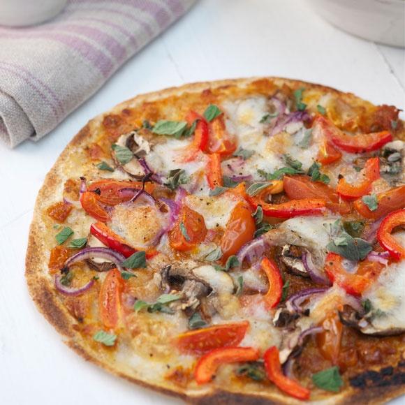 gezonde pizza gezond recept calorie arm