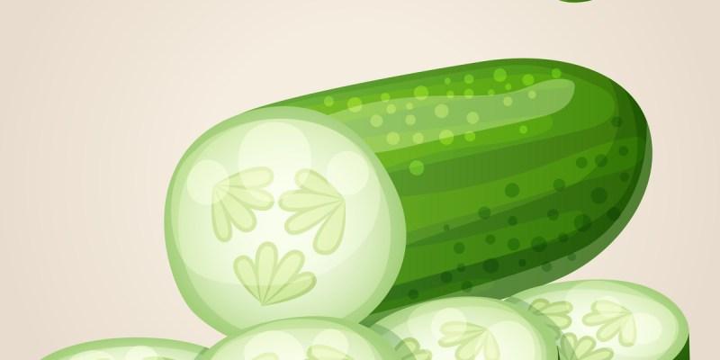 減肥食物小黃瓜你該這樣吃,營養師大推「小黃瓜減肥法菜單」