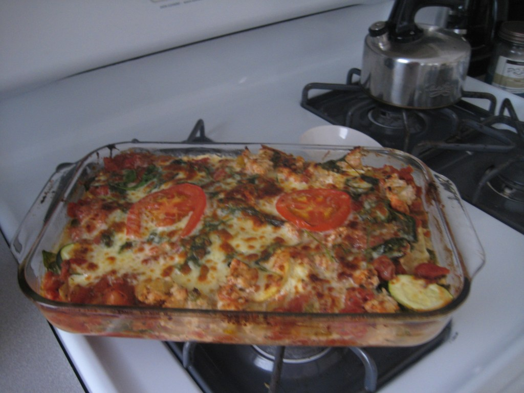 Quick and Healthy TurkeyVegetable Lasagna  Dietitian Drive