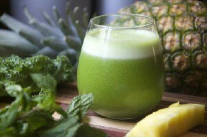 Pineapple-Green-Juice