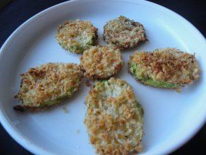 Zucchini Crisps (Vegan, Vegetarian, Egg-Free, Dairy-Free, Snack)