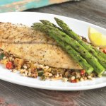 Barramundi With Mixed Grain Salad