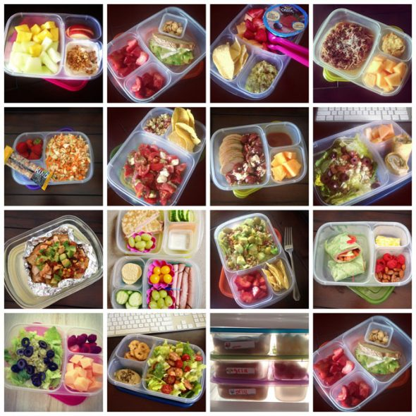 make simple lunches