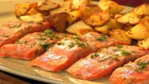 Rosemary Baked Salmon