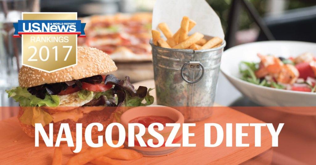 Najgorsze diety w 2017 roku!