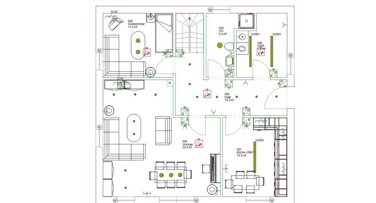 Installationsplan Küche Elektro  Preiswert Bauen In Teurer Gegend