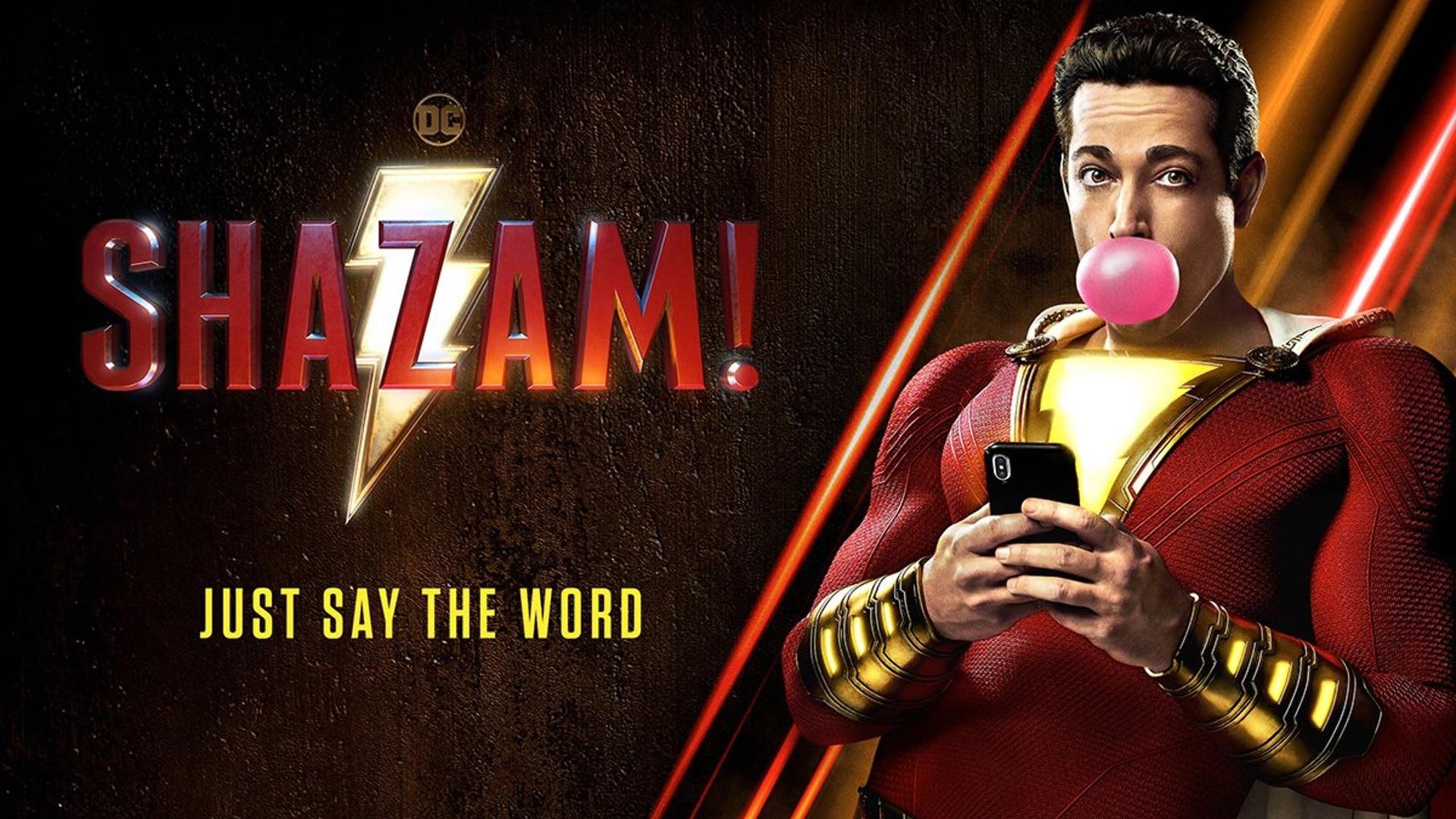 Shazam film header