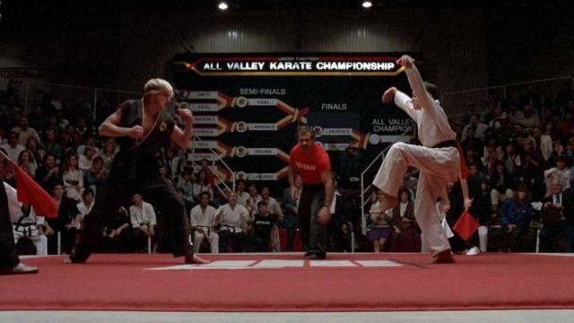 Karate Kid - All Valley Tournament: Johnny Lawrence (William Zabka) VS Daniel La Russo (Ralph Macchio)