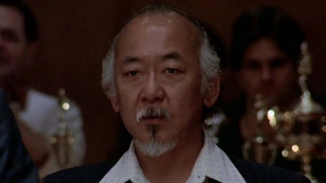 Pat Morita - Mr. Miyagi in Karate Kid