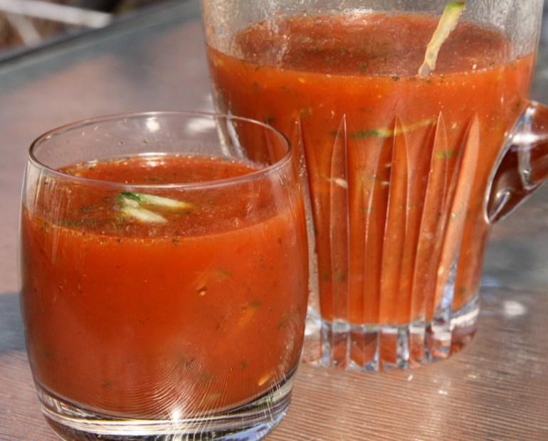 cucumber tomato juice