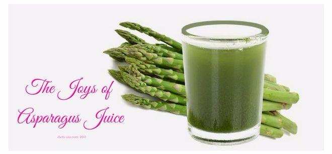 The joys of asparagus juice - Diets USA Magazine