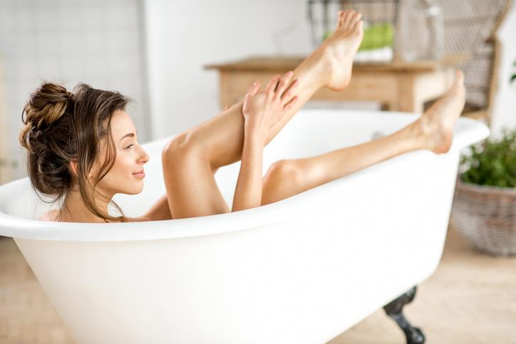 お風呂1日ダイエット!高温反復浴の即痩せ入浴法が凄い!