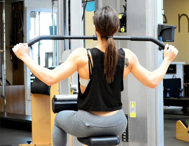 close grip lat pulldown alternative with Dumbbells and variations