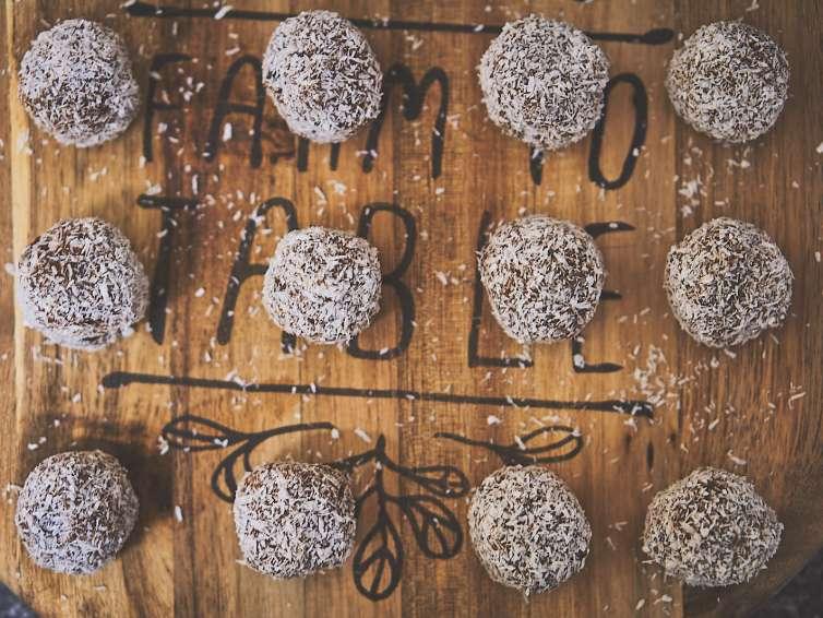 Kulki proteinowo-kokosowe 🥥🥥