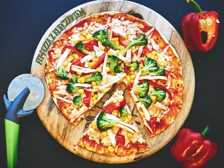 Fit pizza z kurczakiem 🍕 🍕