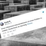 """""""Künstler"""" instrumentalisieren Holocaust, um Björn Höcke zu mobben (Video)"""
