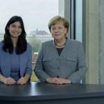 Merkel fordert die junge Generation zur Aufarbeitung des Nationalsozialismus auf (Video)