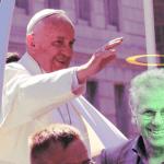 Papst Franziskus spricht Grünen-Politiker Daniel Cohn-Bendit als Schutzpatron der Kinder heilig