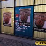 Linke Gewalt nicht länger verschweigen! – Identitäre hängen Magnitz-Fotos an Grünen-Zentrale, ARD Hauptstadtstudio, taz, SPD