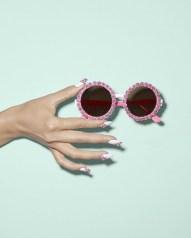 A-Morir Rose Sunglasses Pink ss2016