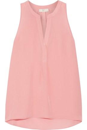 Joie Aruna Silk Baby Pink Top