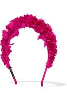 Yunotme silk faile Pink Headband