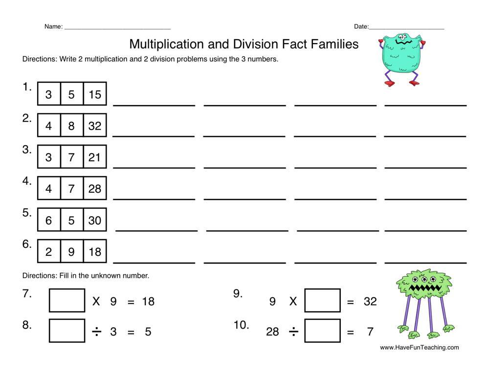 2 Digit Multiplication Worksheets And Answers