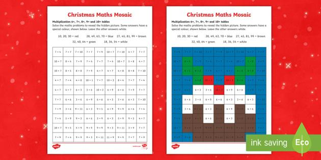 Free Holiday Math Worksheets First Grade