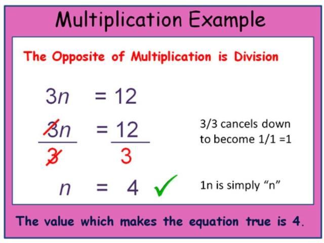 Multiplication Equations Worksheets