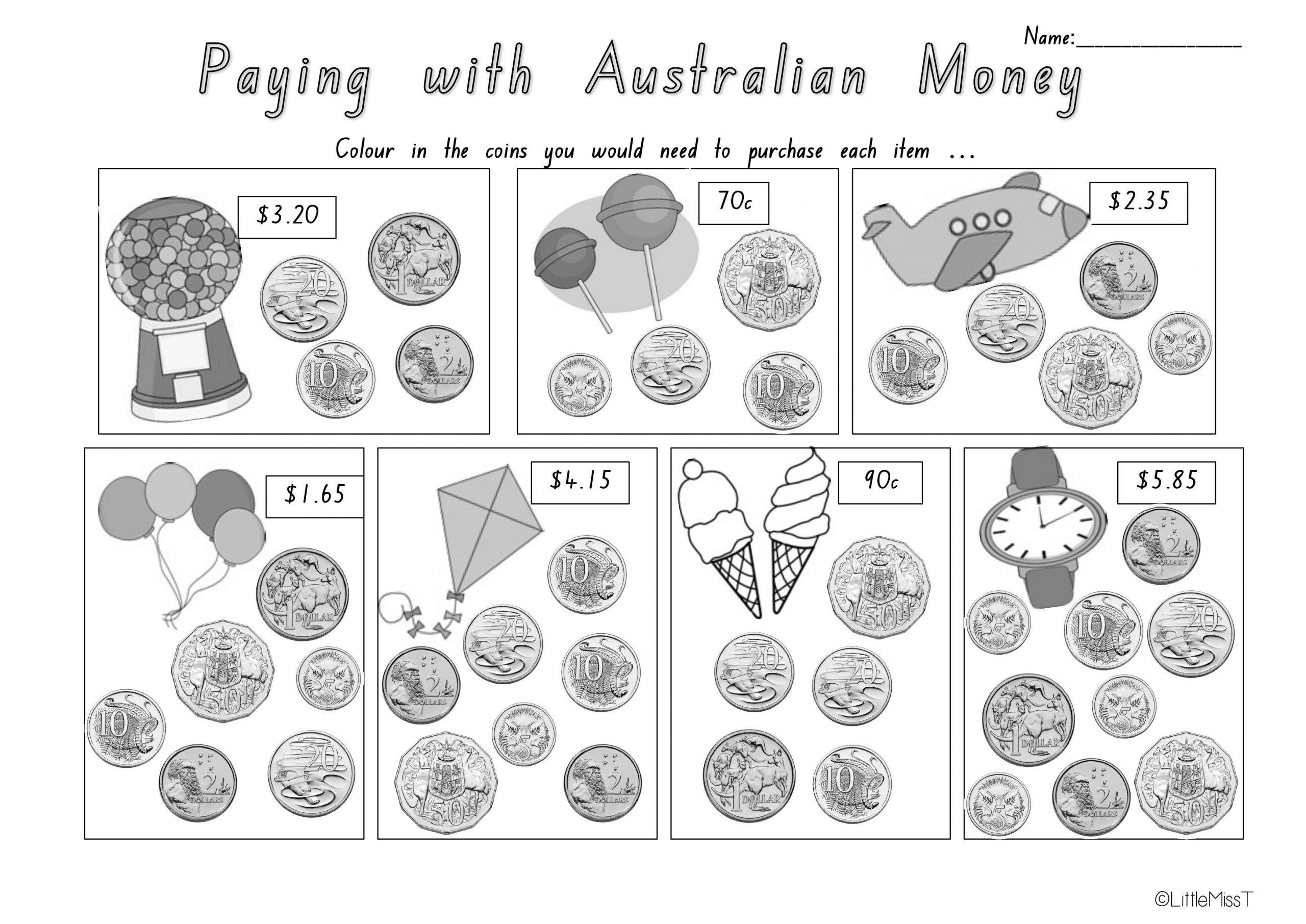 Multiplication Worksheets Australia 3