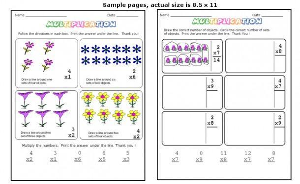 Multiplication Worksheets For Beginners Pdf