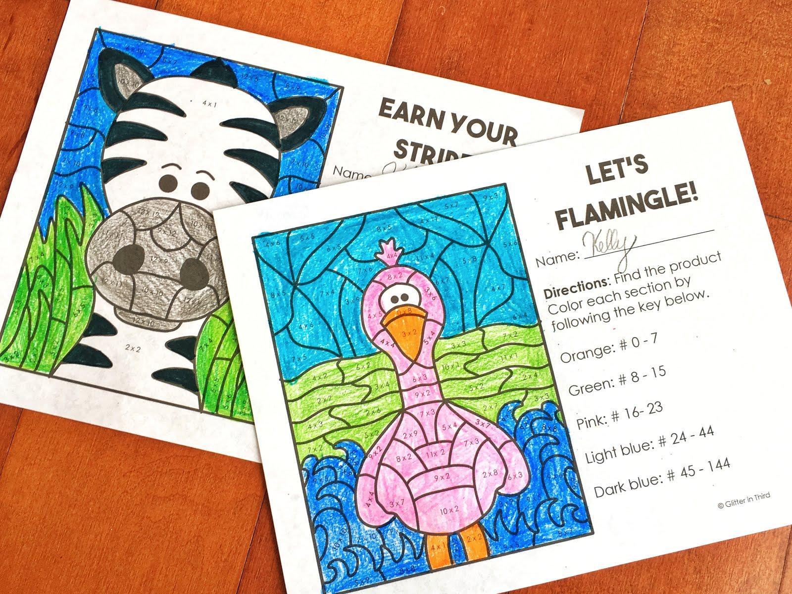 Multiplication Worksheets For Grade 3 1