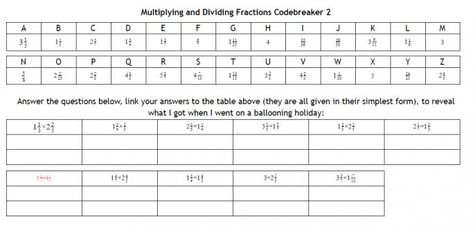 Multiplication And Division Worksheets Ks3