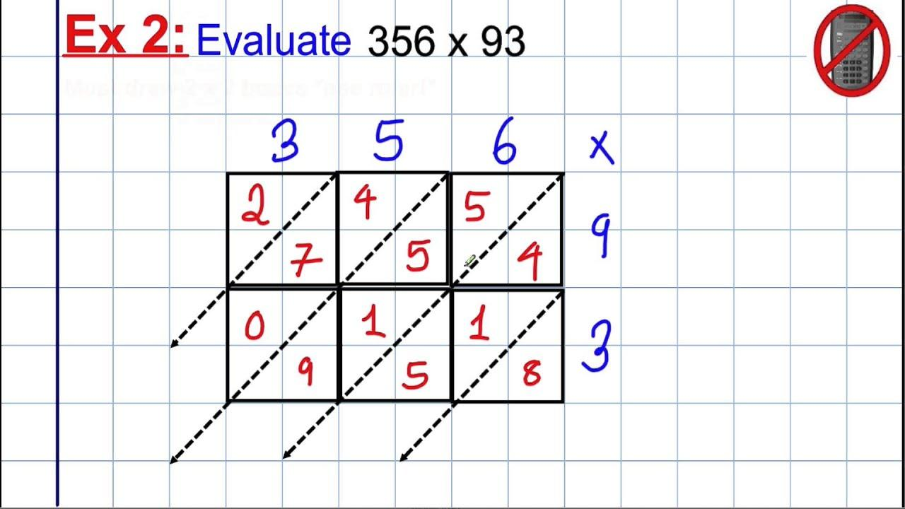 Multiplication Of Large Numbers Worksheets