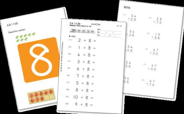 Multiplication Worksheets Kumon 1