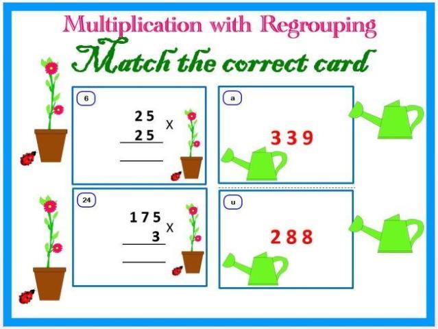 Multiplication Worksheets Regrouping