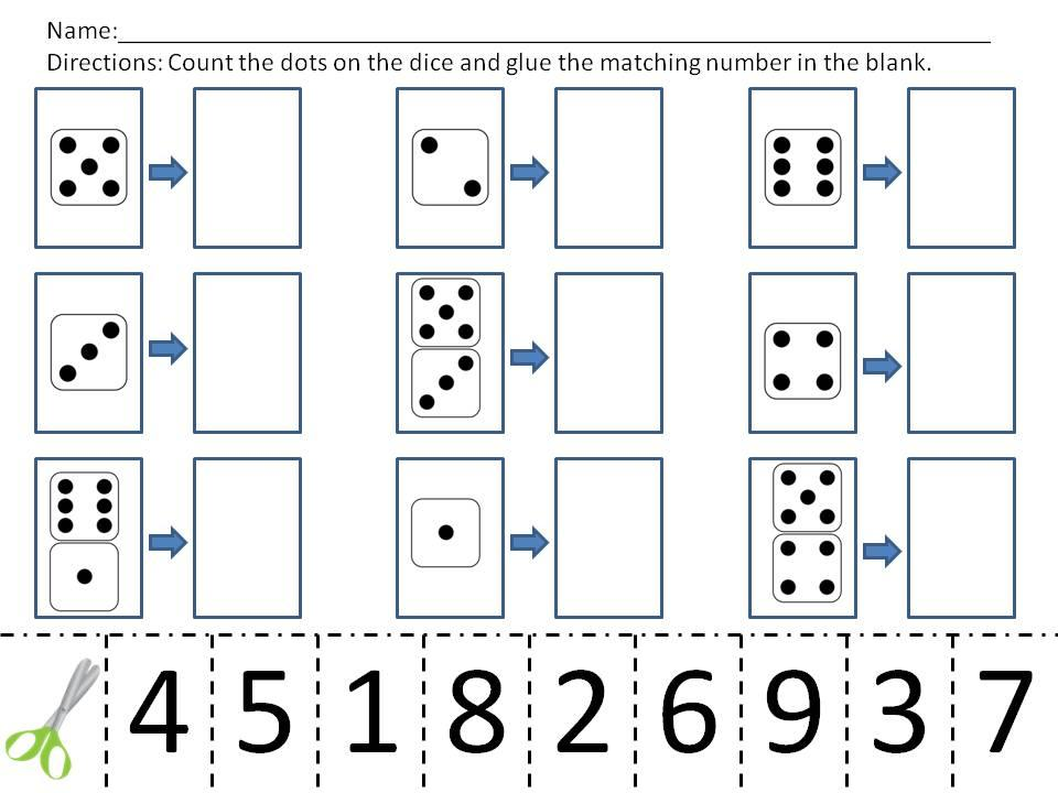 Simple Multiplication Worksheets For Kindergarten