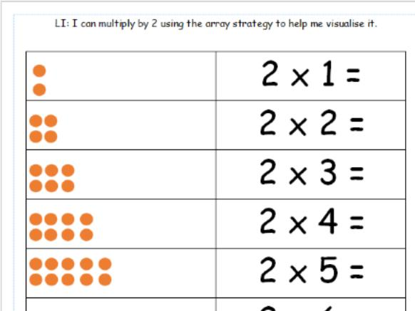 Multiplication Worksheets 2 And 3 Times Tables