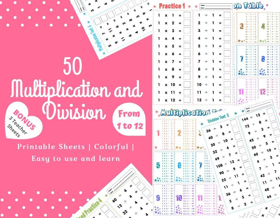 Multiplication Worksheets Without Answers 5