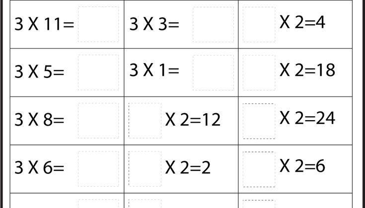 Multiplication Worksheets X4 3