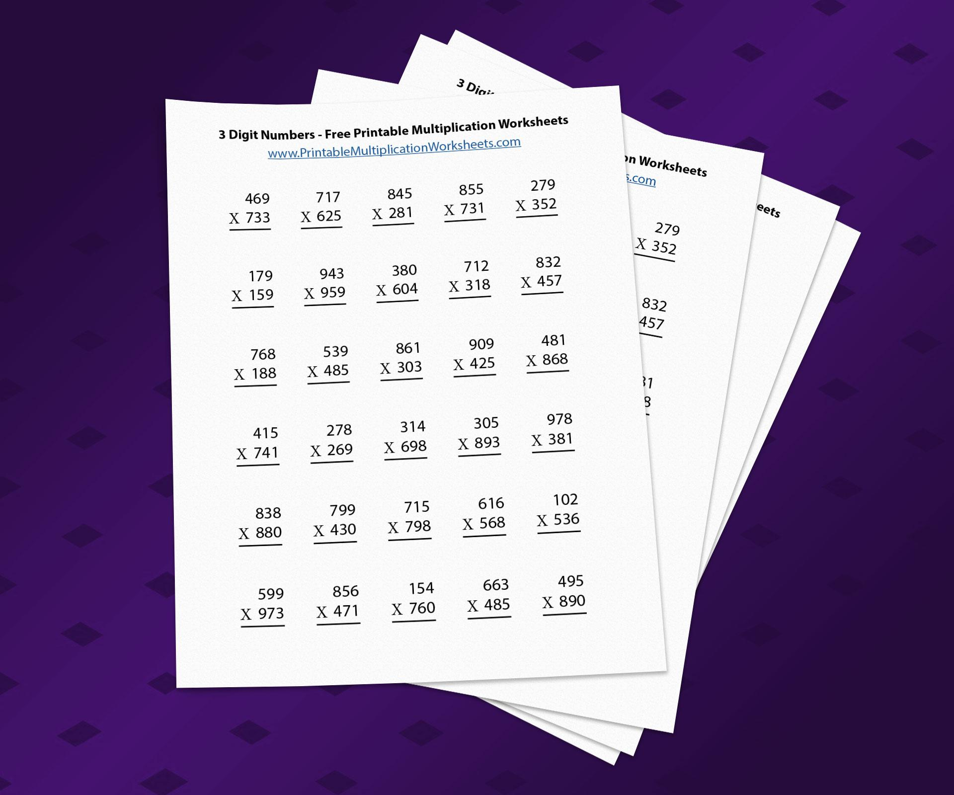 Multiplication Worksheets Zero And Ones 5