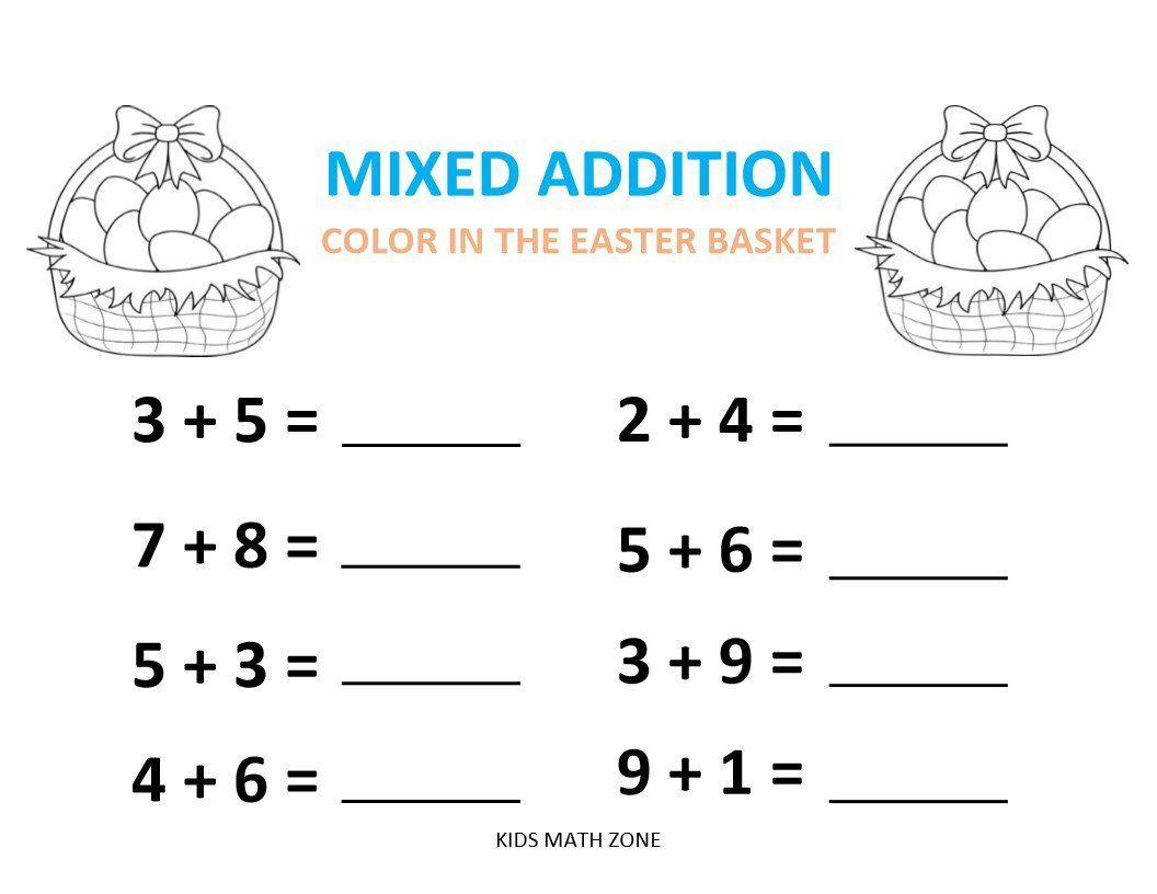 Preschool Worksheets Math Pdf