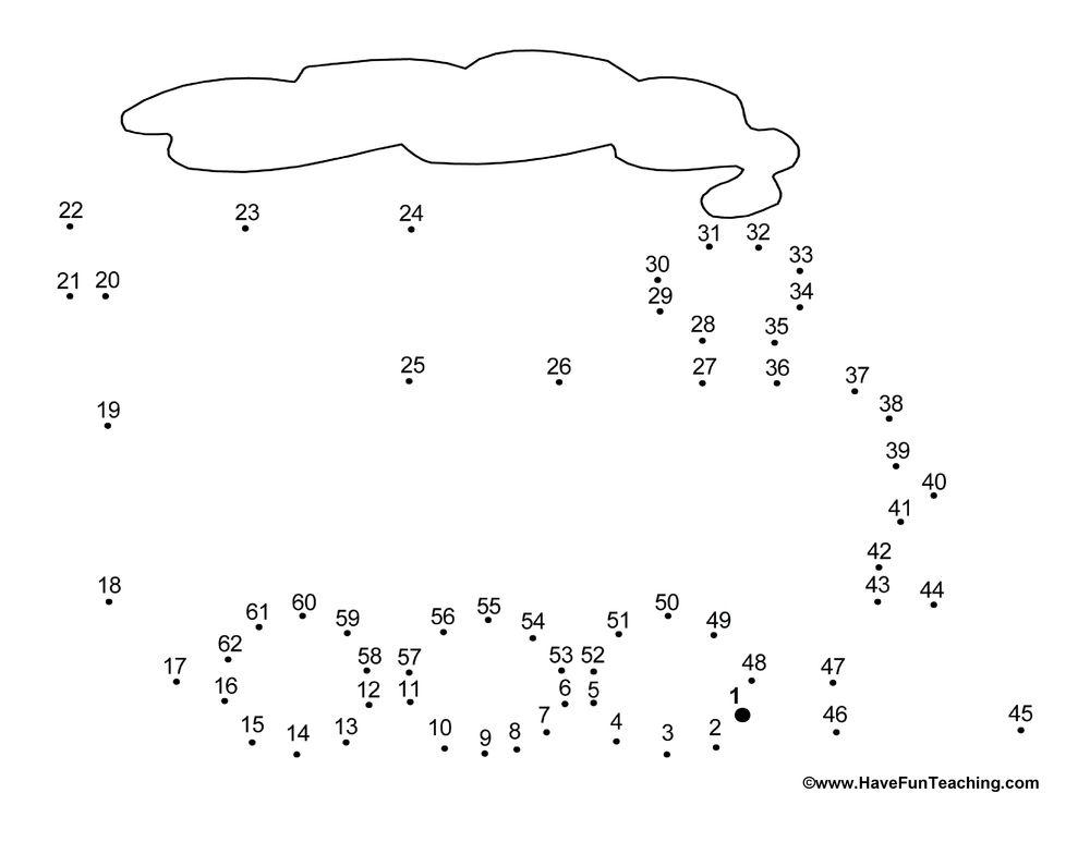 Free Printable Preschool Dot To Dot Worksheets