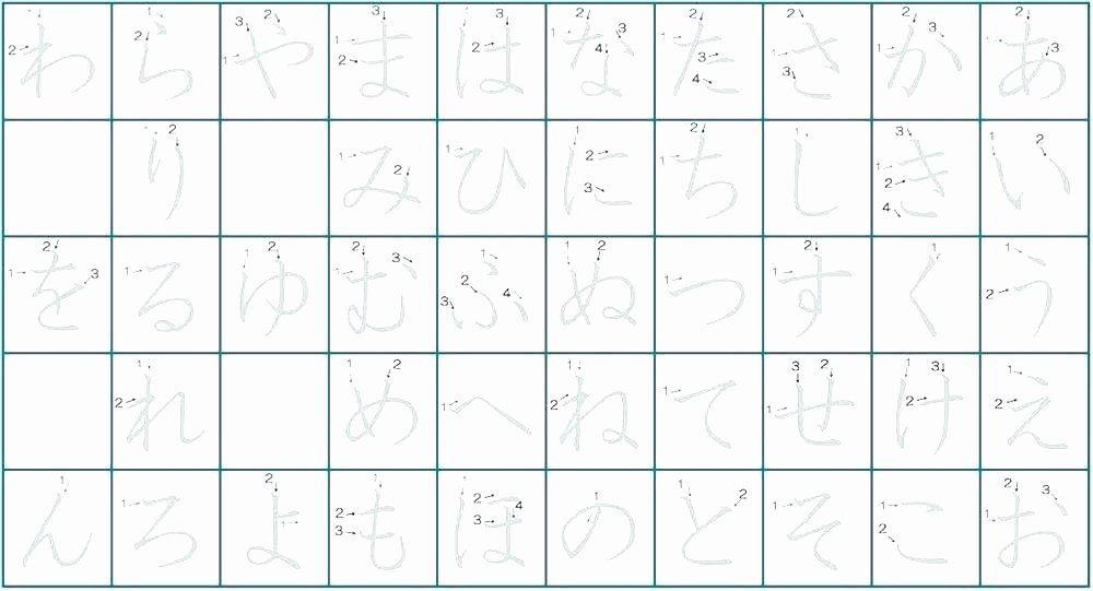 Japanese Preschool Worksheets 6