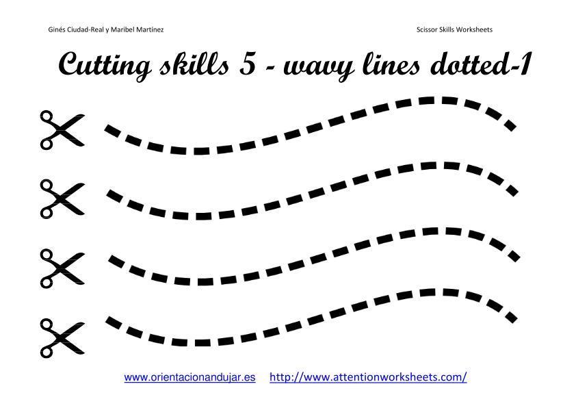 Preschool Cutting Worksheets Free