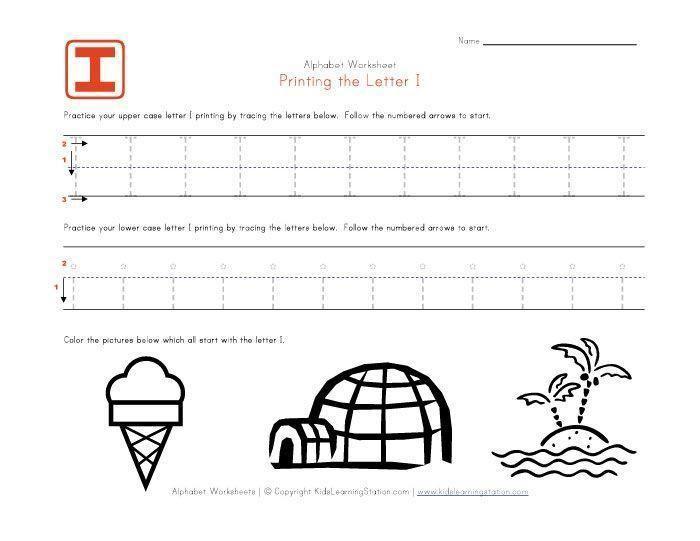 Preschool English Grammar Worksheets