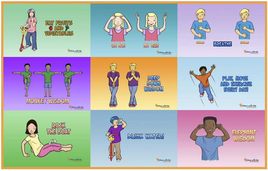 Preschool Exercise Worksheets 2